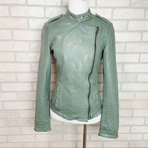 MuuBaa 100% Lamb distressed Leather Jacket  N15